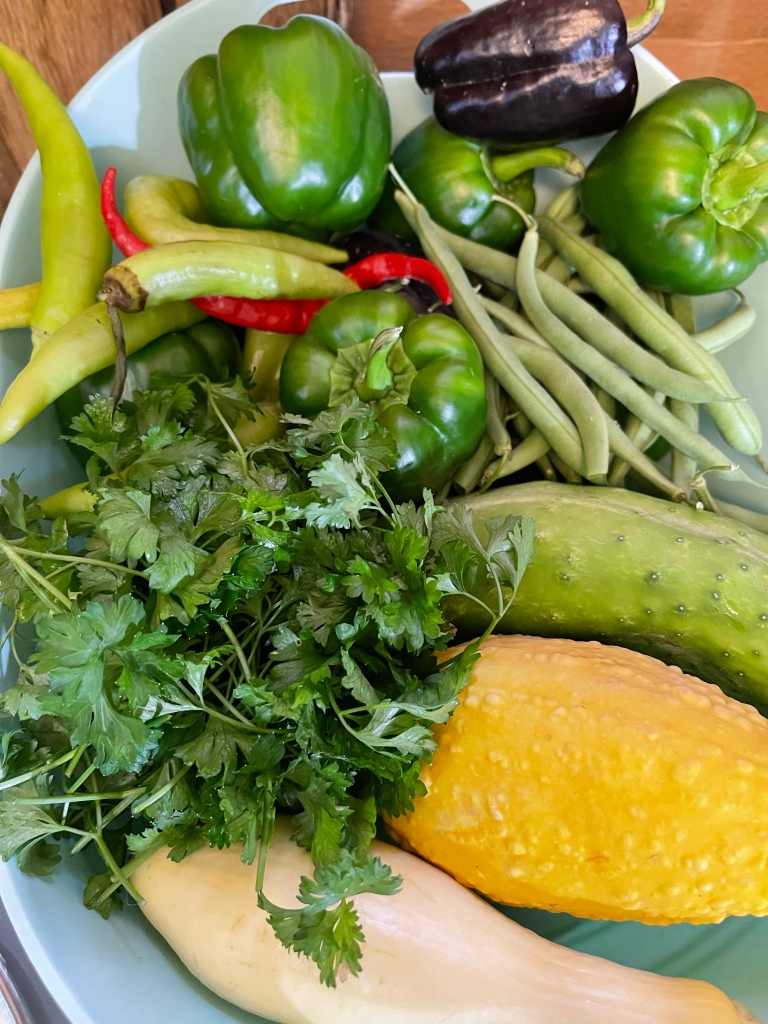 More fresh foods from the garden